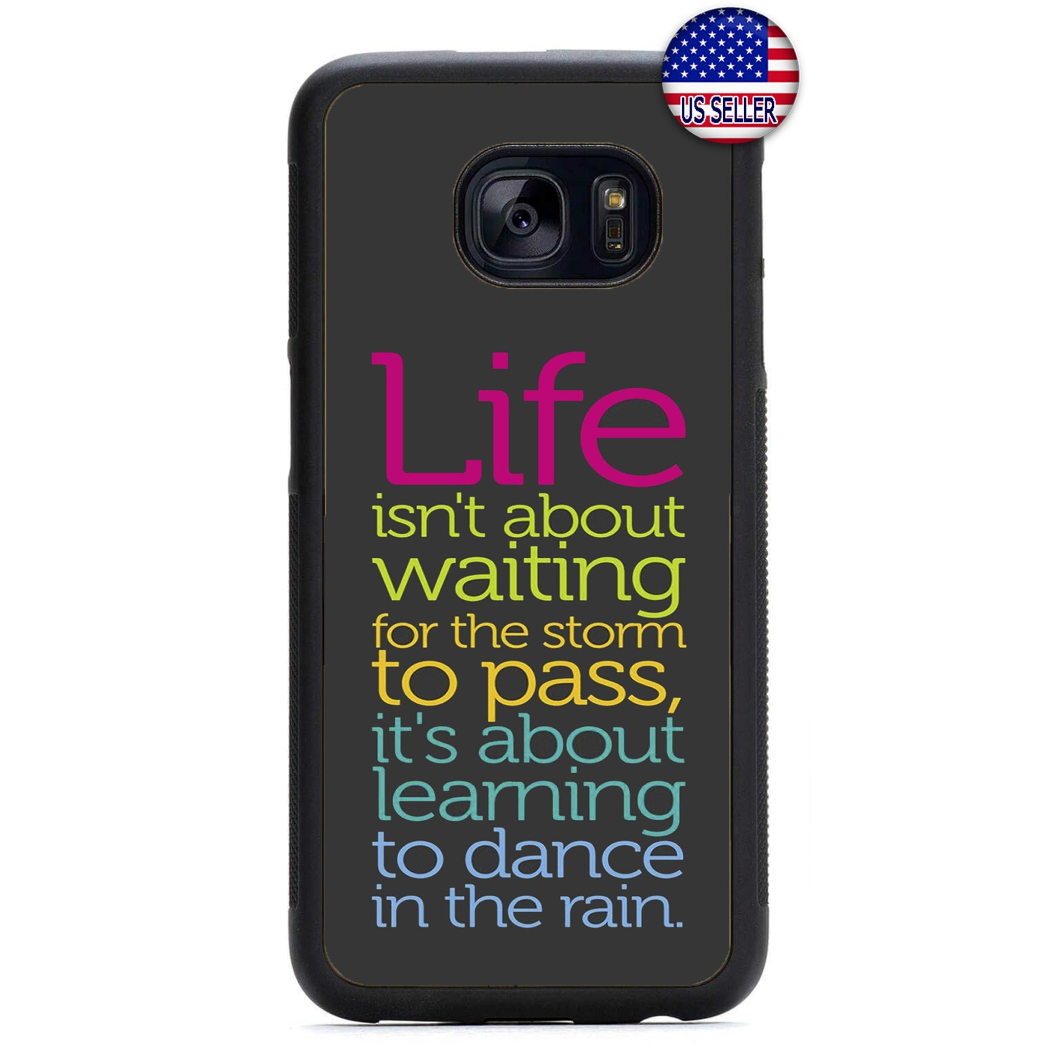 Dance In The Rain Rubber Case Cover For Samsung Galaxy Note