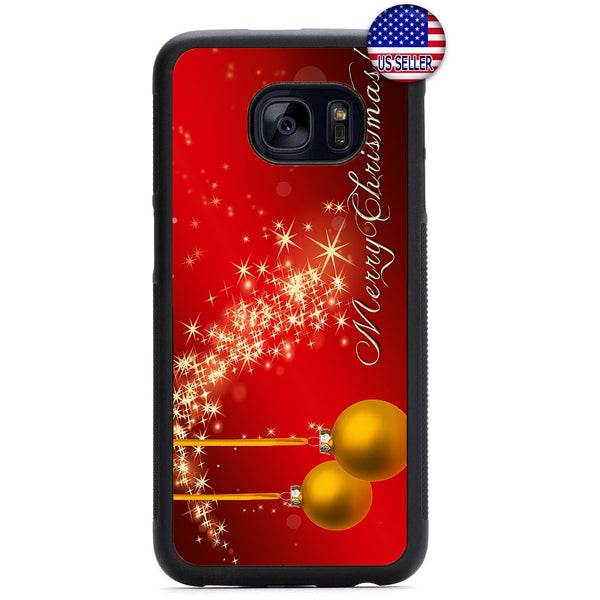 Magic Merry Christmas Rubber Case Cover For Samsung Galaxy