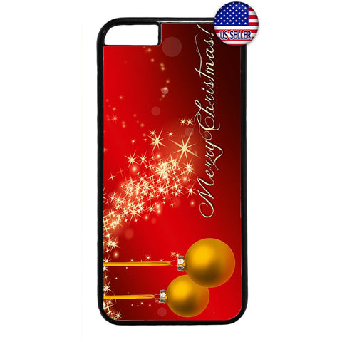 Magic Merry Christmas Rubber Case Cover For Iphone