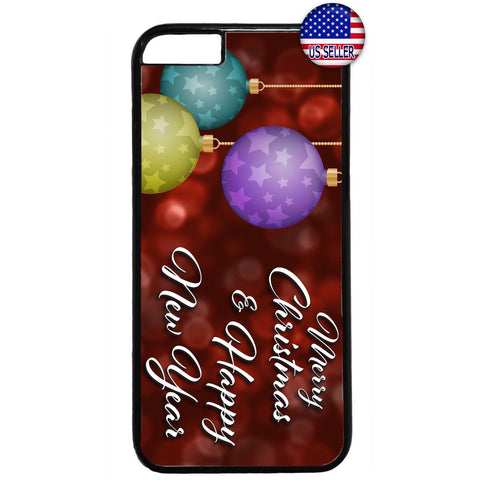 Merry Christmas New Year Holiday Rubber Case Cover For Iphone