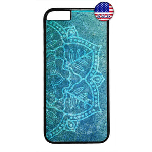 Marble Mandala Henna Rubber Case Cover For Iphone