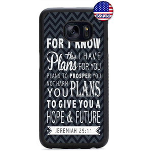 Jesus Christ Bible Verse Christian Rubber Case Cover For Samsung Galaxy