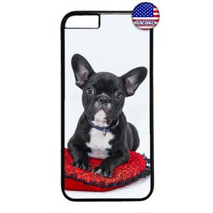 Puppy Boston Terrier Dog Rubber Case Cover For Iphone