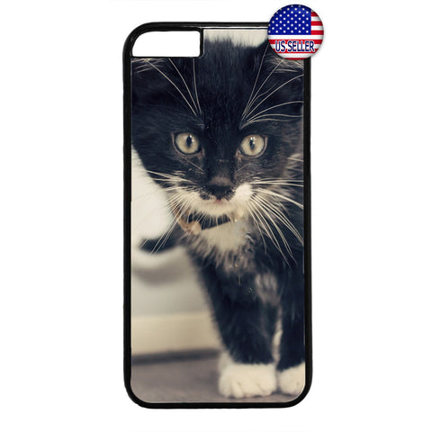 Kitty Cat Kitten Love Rubber Case Cover For Iphone