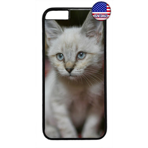 Kitty Cat Kitten Pet Fur Rubber Case Cover For Iphone
