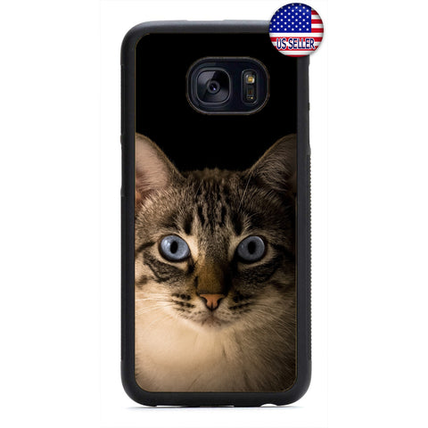 Paws Pet Kitty Cat Kitten Rubber Case Cover For Samsung Galaxy