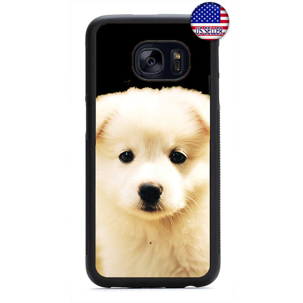 Furry Cute Puppy Dog Pet Rubber Case Cover For Samsung Galaxy
