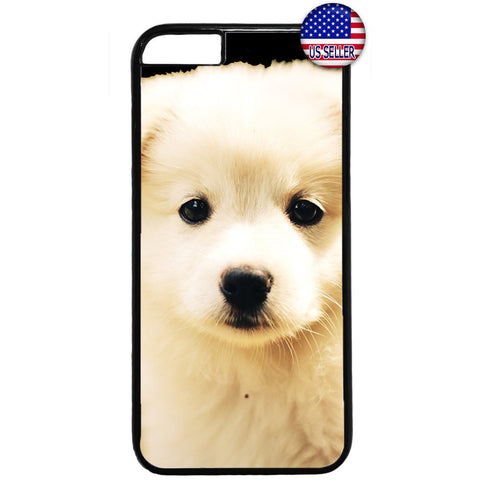 Furry Cute Puppy Dog Pet Rubber Case Cover For Iphone
