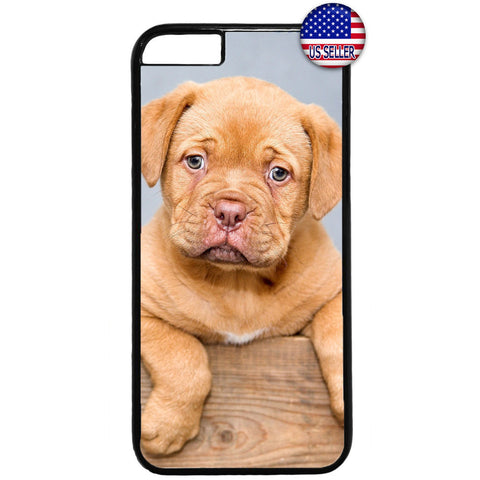 Cute Puppy Dog Friend Rubber Case Cover For Iphone