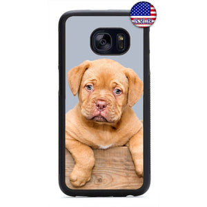 Cute Puppy Dog Friend Rubber Case Cover For Samsung Galaxy