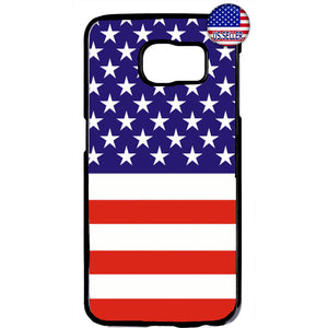 USA Flag American Pride Stars & Stripes Rubber Case Cover For Samsung Galaxy