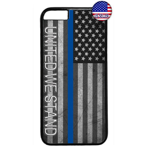 Police Force United We Stand Rubber Case Cover For Iphone