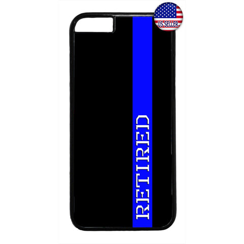 Police Force Retired Cop Rubber Case Cover For Iphone
