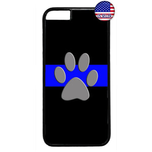 Police Force K-9 Dog Canine Rubber Case Cover For Iphone