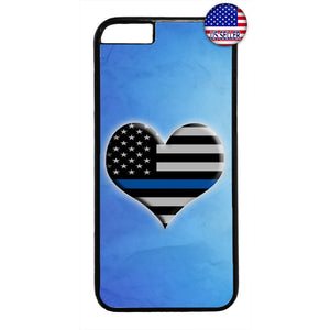 I Love The Police Cops Rubber Case Cover For Iphone