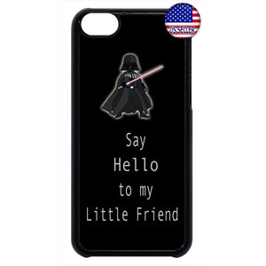 Funny Vader Scarface Rubber Case Cover For Ipod Touch