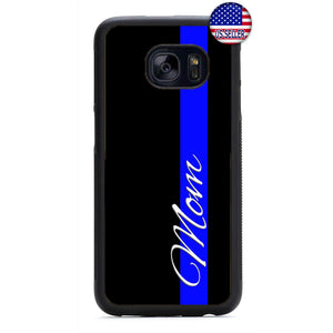 Police Officer Proud Mom Rubber Case Cover For Samsung Galaxy Note