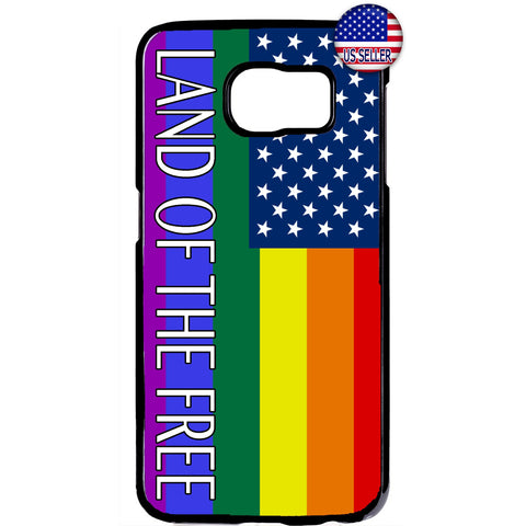 Gay Lesbian LGTB USA Flag Homosexual Rubber Case Cover For Samsung Galaxy