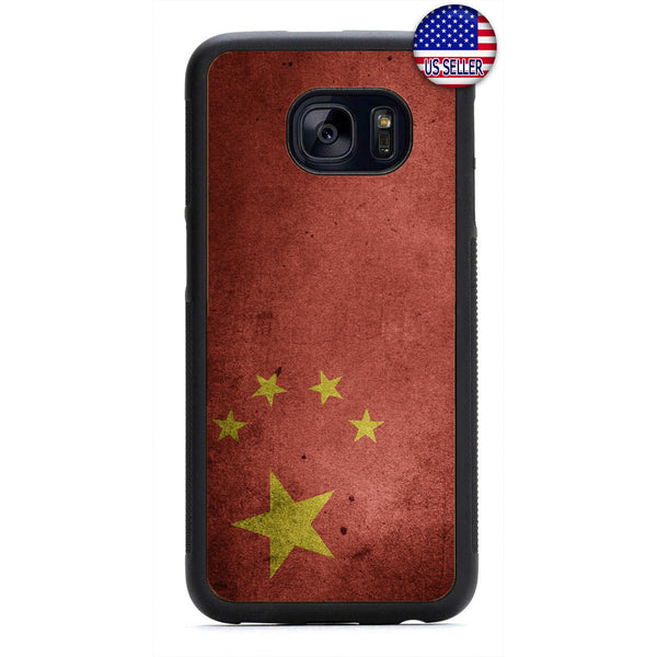 Republic Of China Flag Chinese Pride Rubber Case Cover For Samsung Galaxy
