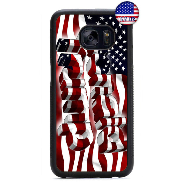 Donald Trump USA Flag Rubber Case Cover For Samsung Galaxy