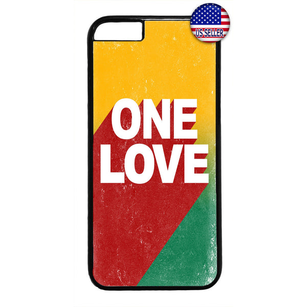 Rasta One Love Marley Jamaica Rubber Case Cover For Iphone