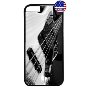 Bass Guitar Rock Music Rubber Case Cover For Iphone