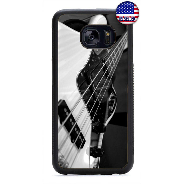 Bass Guitar Rock Music Rubber Case Cover For Samsung Galaxy Note