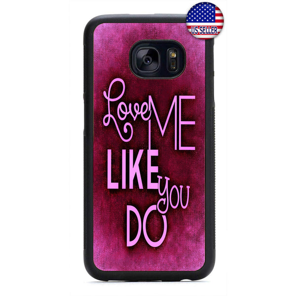 Red Love Me Like you Do Rubber Case Cover For Samsung Galaxy Note