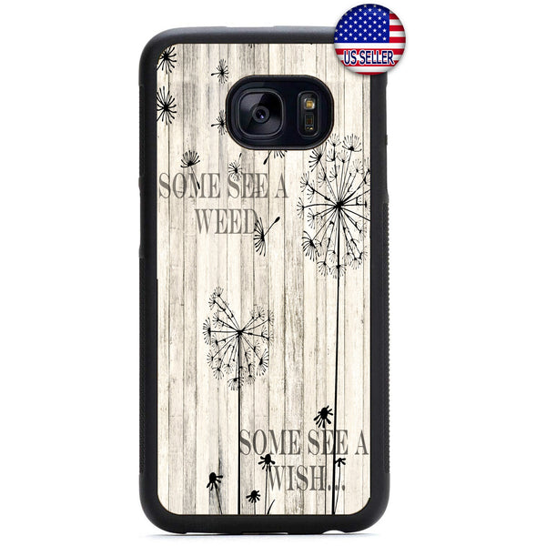 Dandelion Weed Wish Rubber Case Cover For Samsung Galaxy Note