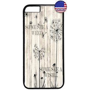 Dandelion Weed Wish Rubber Case Cover For Iphone