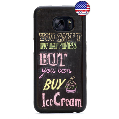 Funny Buy Ice Cream Rubber Case Cover For Samsung Galaxy Note