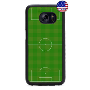 Soccer Field Love Futbol Rubber Case Cover For Samsung Galaxy