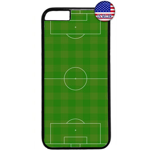 Soccer Field Love Futbol Rubber Case Cover For Iphone