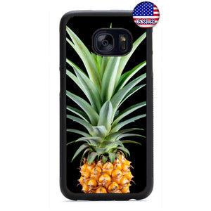Pineapple Tropic Fruit Rubber Case Cover For Samsung Galaxy