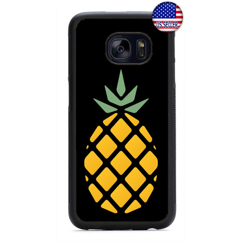 Pineapple Fruit Art Rubber Case Cover For Samsung Galaxy