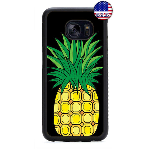 Tropic Fruit Pineapple Rubber Case Cover For Samsung Galaxy