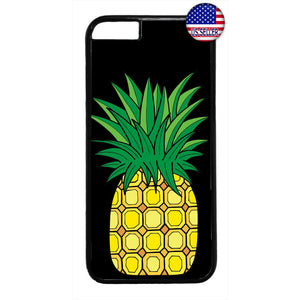 Tropic Fruit Pineapple Rubber Case Cover For Iphone