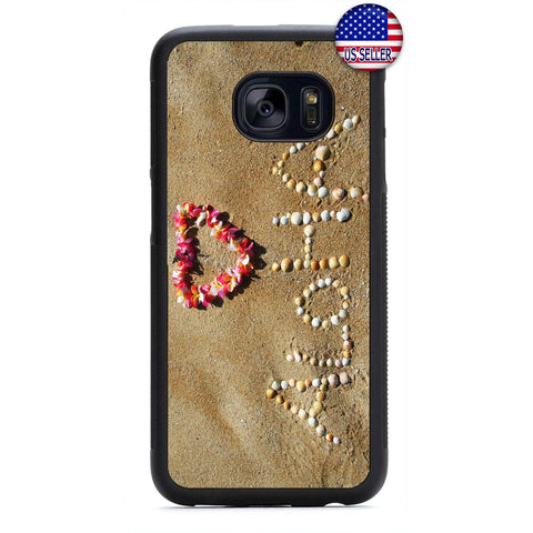 Aloha Beach Hawaii Rubber Case Cover For Samsung Galaxy Note