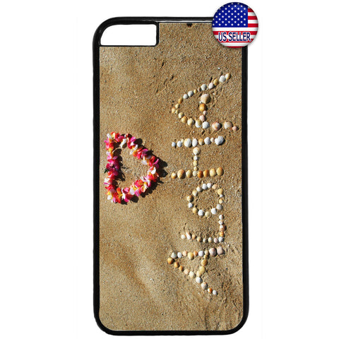 Aloha Beach Hawaii Rubber Case Cover For Iphone