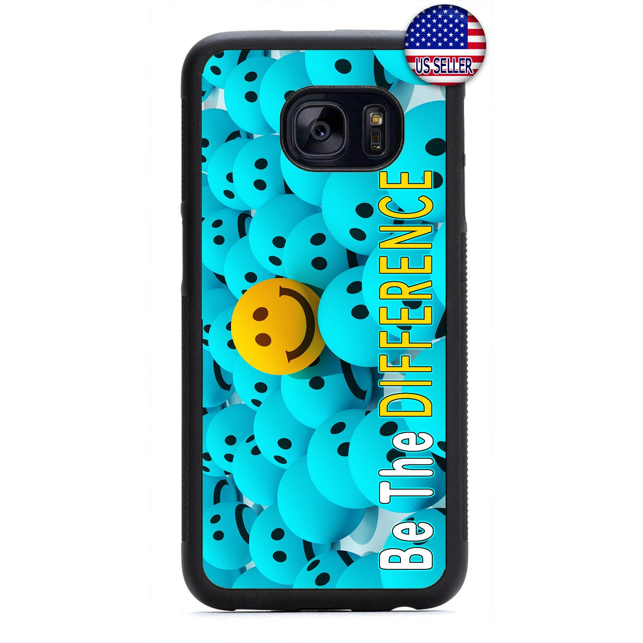 Be The Difference Emoji Rubber Case Cover For Samsung Galaxy