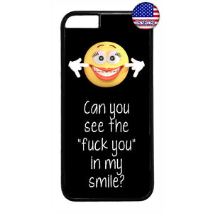 Can You See The F**k You Rubber Case Cover For Iphone