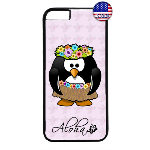 Aloha Hula Dancer Hawaii Rubber Case Cover For Iphone