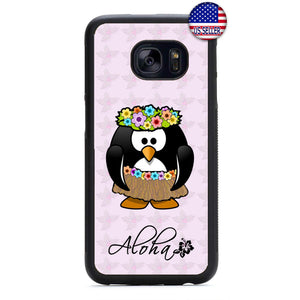 Aloha Hula Dancer Hawaii Rubber Case Cover For Samsung Galaxy