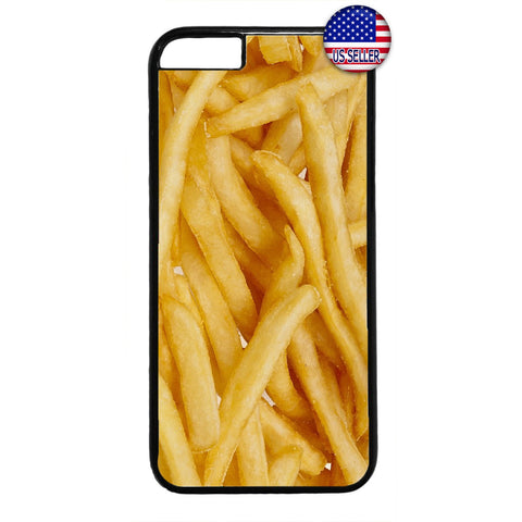 Funny French Fries Food Rubber Case Cover For Iphone