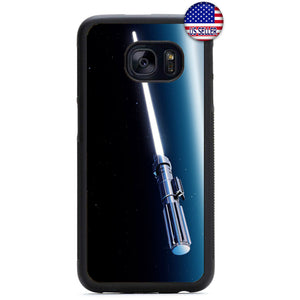 Light Saber Jedi Weapon Rubber Case Cover For Samsung Galaxy