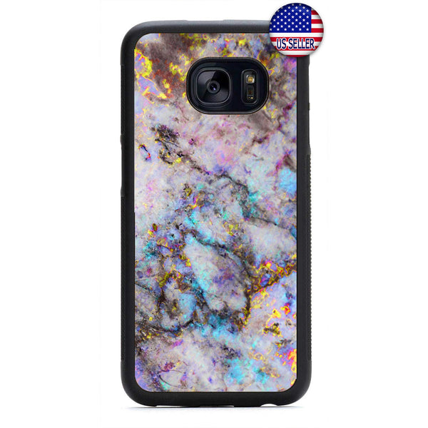 Stone Granite Marble Rubber Case Cover For Samsung Galaxy