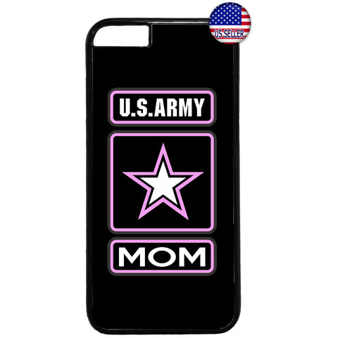 Proud US Army Forces Mom United States Rubber Case Cover For Iphone