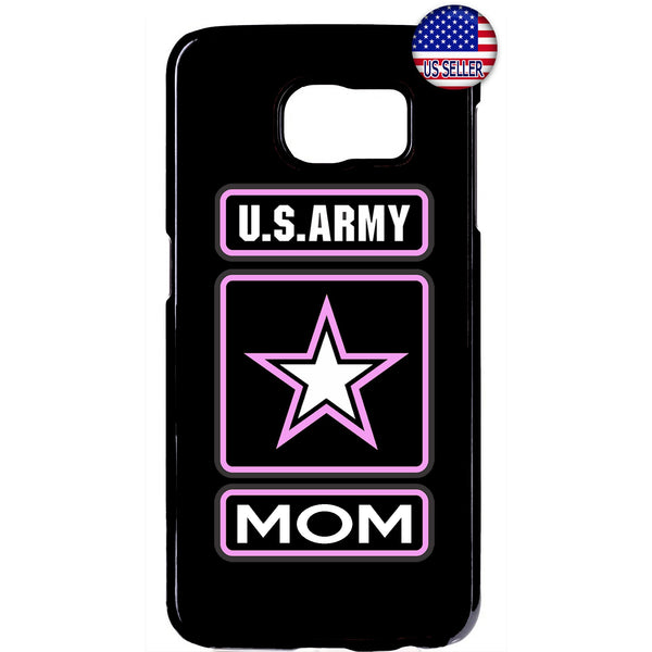 Proud US Army Forces Mom United States Rubber Case Cover For Samsung Galaxy