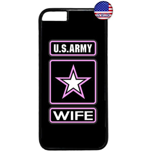 Proud US Army Wife United States Rubber Case Cover For Iphone