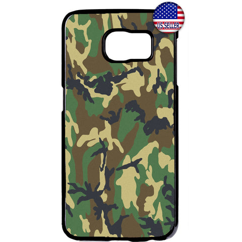 Camouflage Army Pattern Rubber Case Cover For Samsung Galaxy